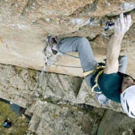Dave Macleod over first ascents