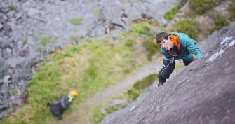 Alex Honnold- Welsh Slate