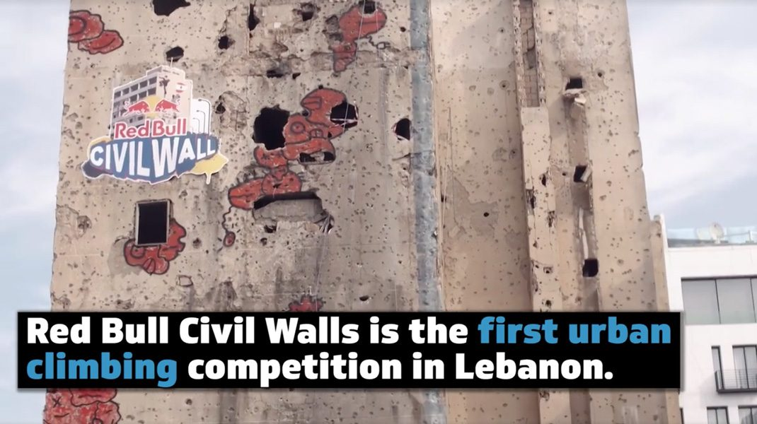 Red Bull Civil Wall Libanon